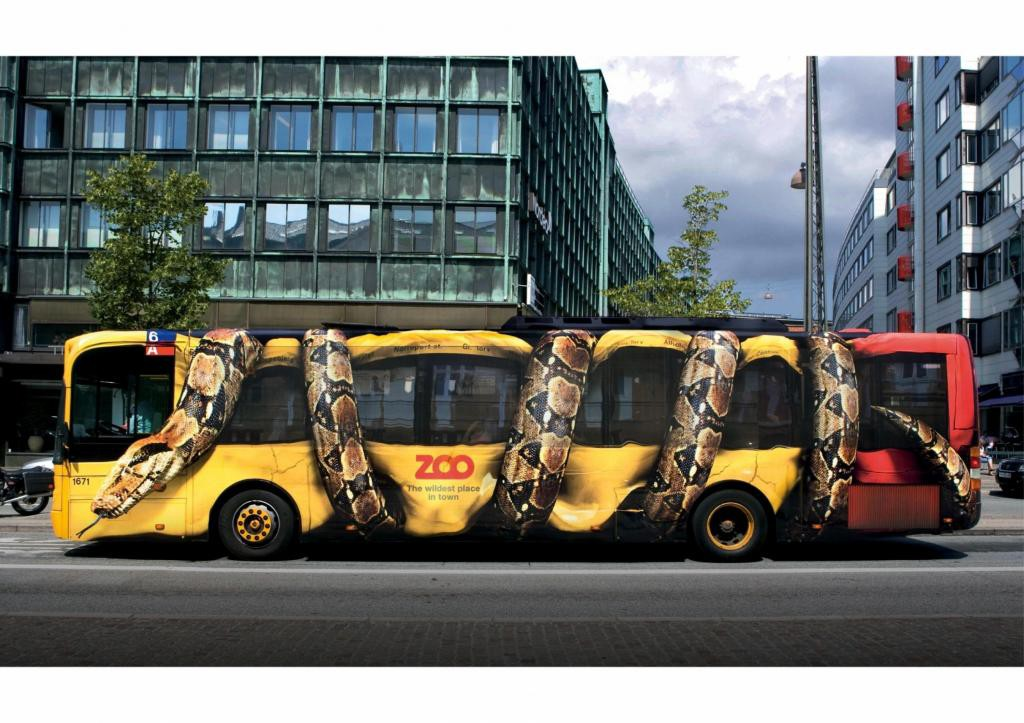 Guerilla Marketing CycloPub - Zoo